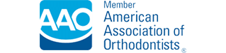 AAO Logo Pulsipher Orthodontics located in San Diego, CA